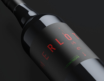 Wine Label Design // Vinothek Hacker