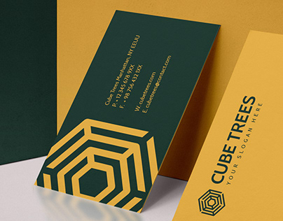Cube Trees / Brand Identity - FREE DOWNLOAD