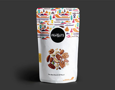 Prannuts - Product Packaging Design