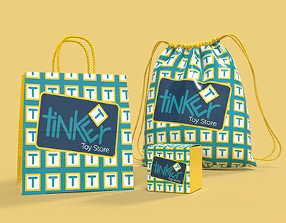 Tinker Toy Store Branding
