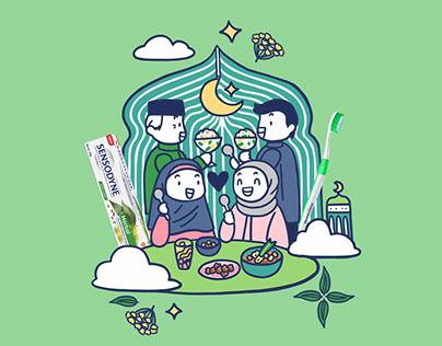 Sensodyne Indonesia - Ramadan Merchandise