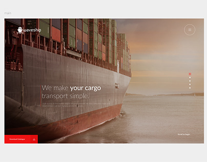 Waveship - Container Shipping Company