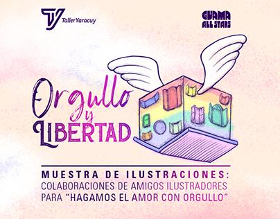 Orgullo y Libertad 2019: Muestra de ilustraciones