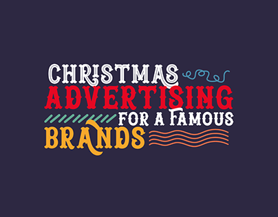 Christmas adv (famous brands)