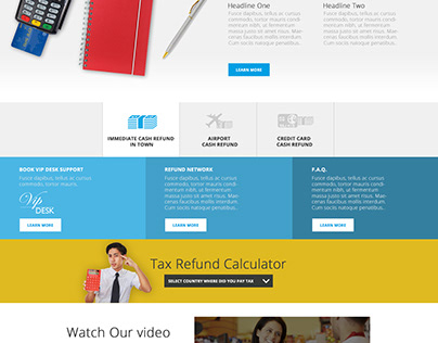 Tax Refund - Design and Communication Proposal