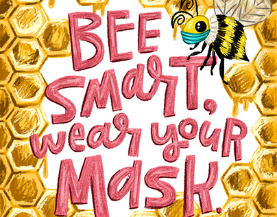 Bee Smart, Wear Your Mask