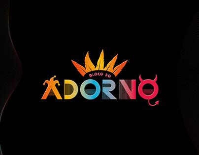 Bloco do Adorno - Logotipo