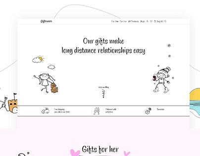 Giftnear Website UI Design and Development
