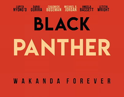 Black Panther - Concept Poster