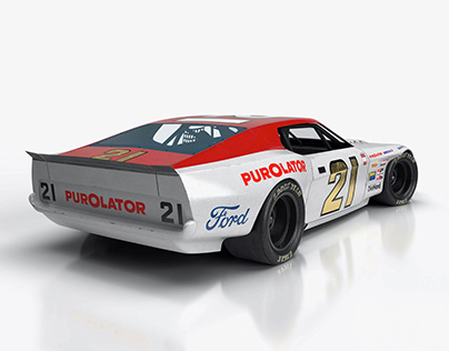 Wood Brothers Ford Mustang