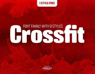 Crossfit Display Font Family