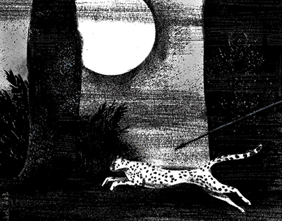 Illustrations to Russian poets of the Silver Age.