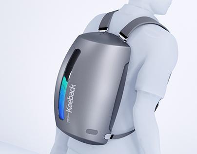 Keeback - Next step in backpacks.