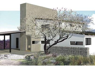 Anteproyecto de ampliación de vivienda en El Suyuque
