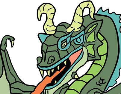 Mega Monster Colouring Book