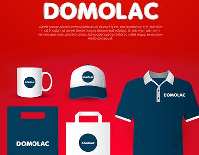 Domolac Logo Design