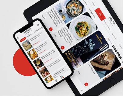 Touch my menu - App