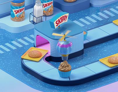 Skippy Smoothly Satisfying