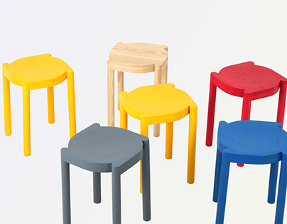 DORI stacking stool