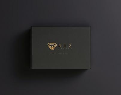 RIZ LONDON Luxury Jewelry Brand Identity