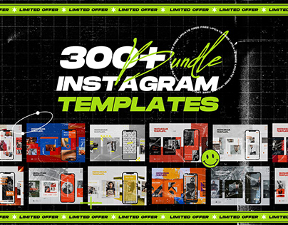 BIG BUNDLES INSTAGRAM TEMPLATES