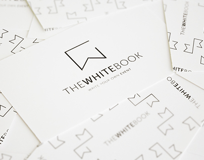 The White Book // Event planning company Brand Identity