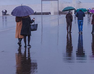 Chove em Fátima