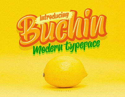 Buchin Modern Typeface