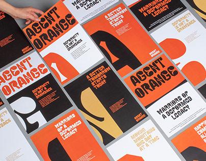 Agent Orange   Branding & Type design