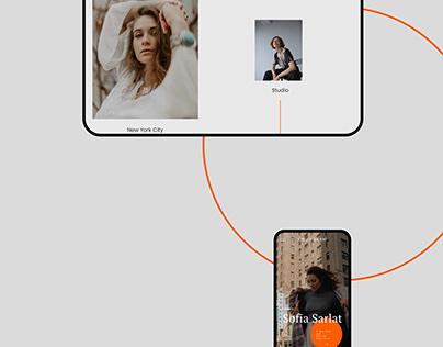 Personal Website Design | UI/UX
