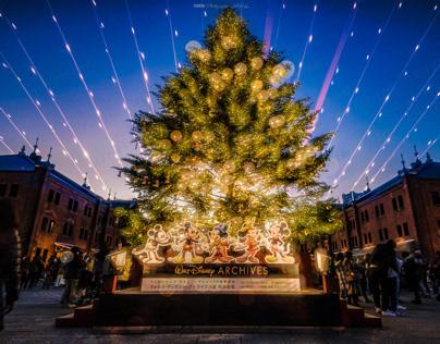 Yokohama Red Brick Warehouse Christmas Tree