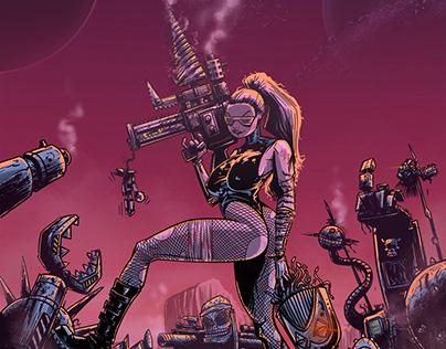 Syntella. Lady Cyborg (Backcover)