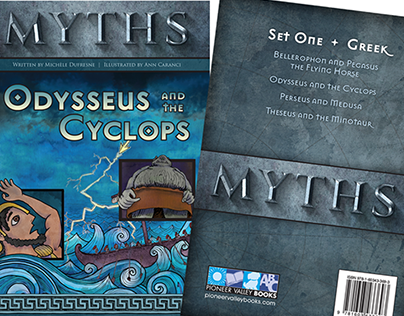 Myths - series and book design