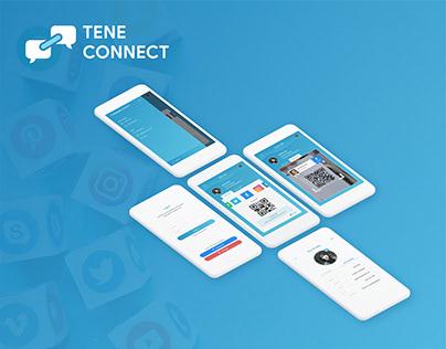 Tene Connect - Social Network Sharing App