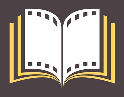 """Логотип киноблога """"Букварь"""""""