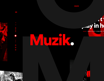 Muzik - One Page Concept