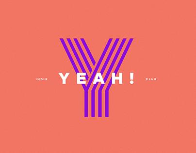 YEAH! Indie Club Identity