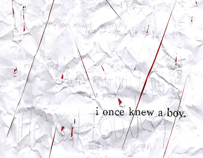 i once knew a boy.