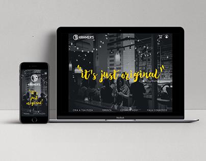 Kramer's Pizza – Website