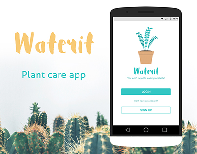 Waterit - Plant care app
