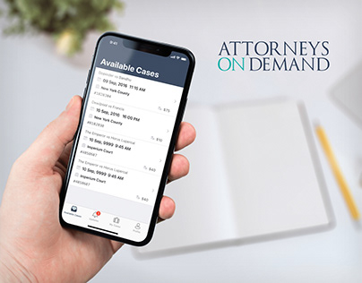 Attorneys on Demand Mobile App