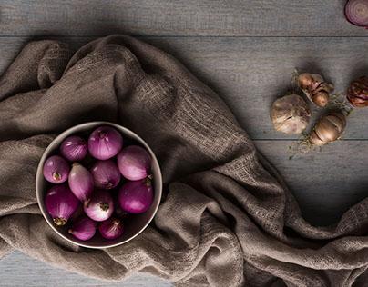 Food Photography - Onions