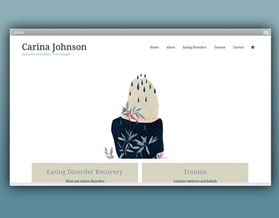 Website Design - Carina Johnson Counselling