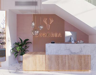 ( Burbrea ) Clothes Store / Abbas Al-Aqqad Branch