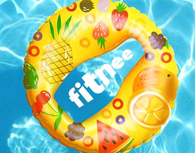 Креативна реклама для Fitnee