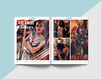 Magazine Mock-ups for Various Projects