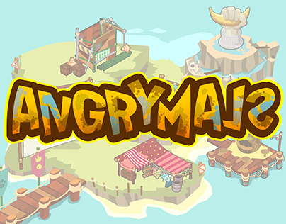 ANGRYMALS - maps and items