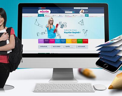 Mersin Kültür OkullarıWeb Sitesi Çalışması