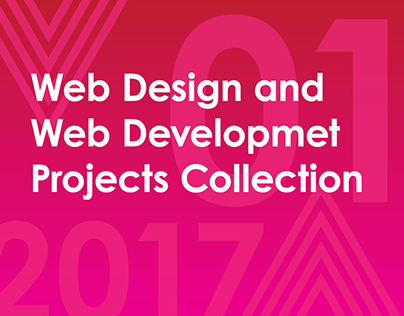Web Design and Web Development projects collection 2017