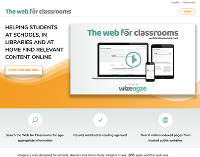 Web for Classrooms - public website